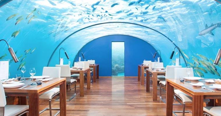3 Ithaa Undersea Restaurant