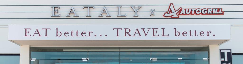 Non solo rustichella in autogrill, viaggiatore ormai puoi scegliere anche l'eccellenza italiana!