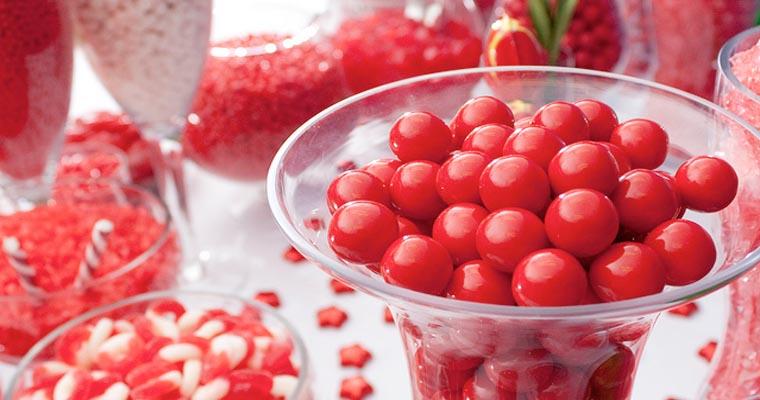 caramelle rosse