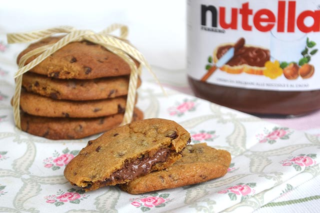 I deliziosi Nutella cookies