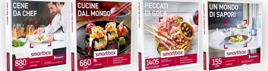 Smart box: percorsi etno ed eno gastronomici da regalare o da regalarsi