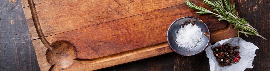 Taglieri da cucina: parole d'ordine resistenza ed estetica