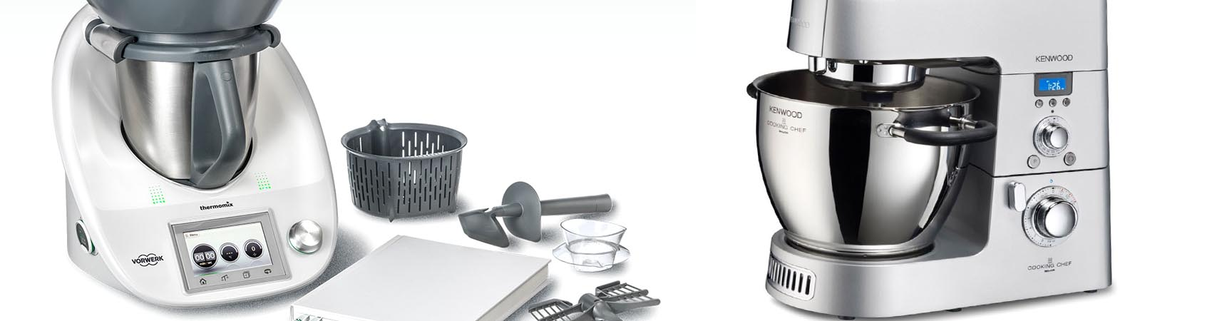 Cooking chef vs Bimby, chi vince la sfida tra i robot da cucina?