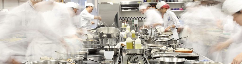 La brigata di cucina: dal commis all'executive chef