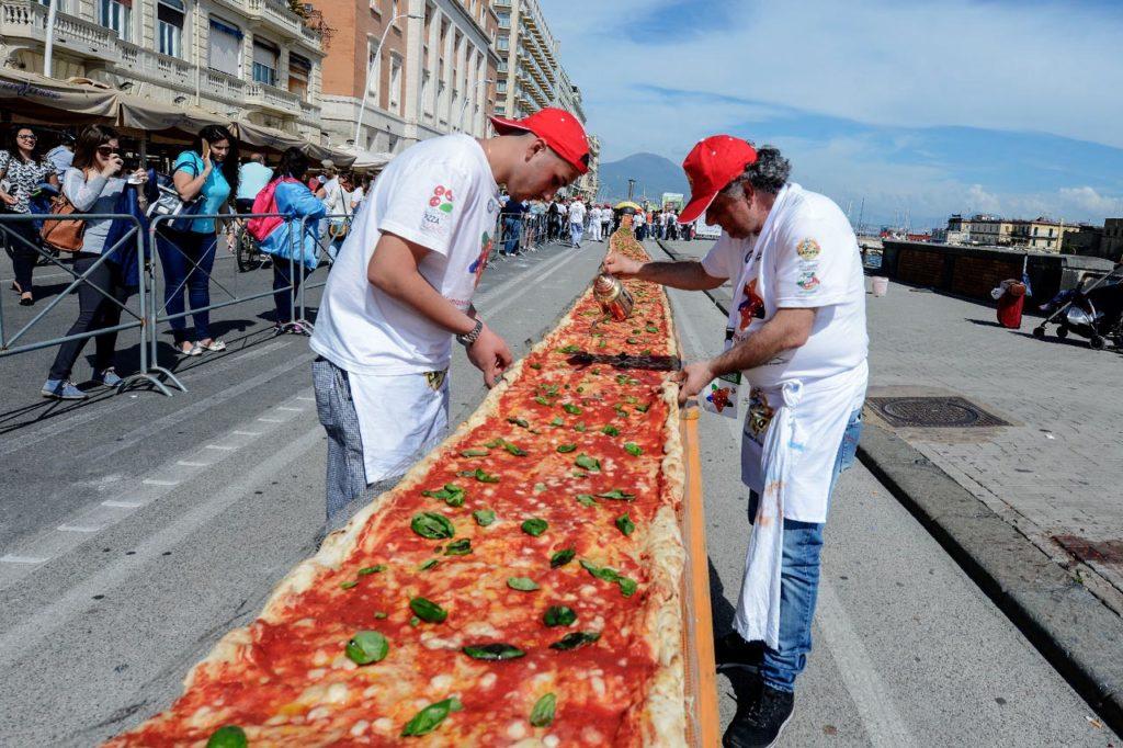 pizza piu lunga