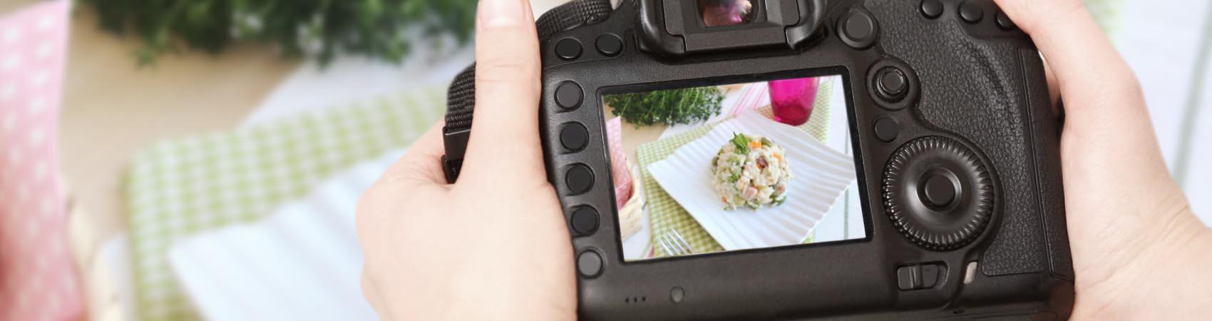 Come fotografare il cibo