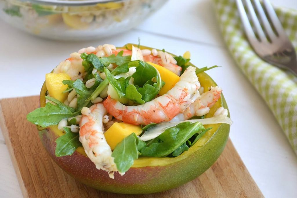 insalata-mango-gamberi