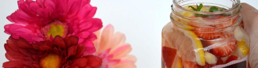 Detox water con Acqua Cerelia
