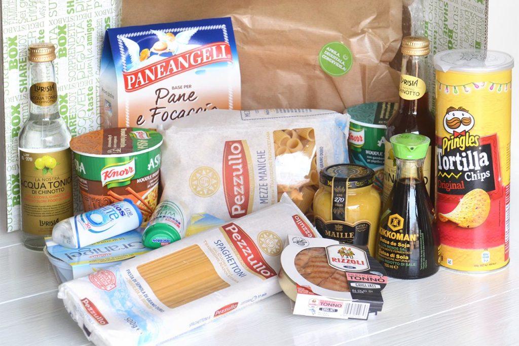 degustabox prodotti