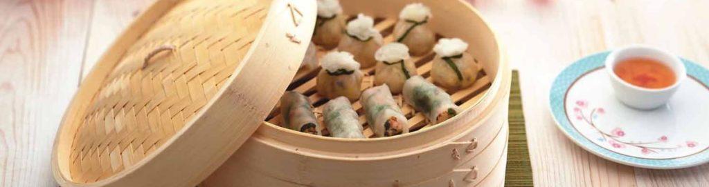 Vaporiera di bambù, come utilizzarla dall'antipasto al dolce