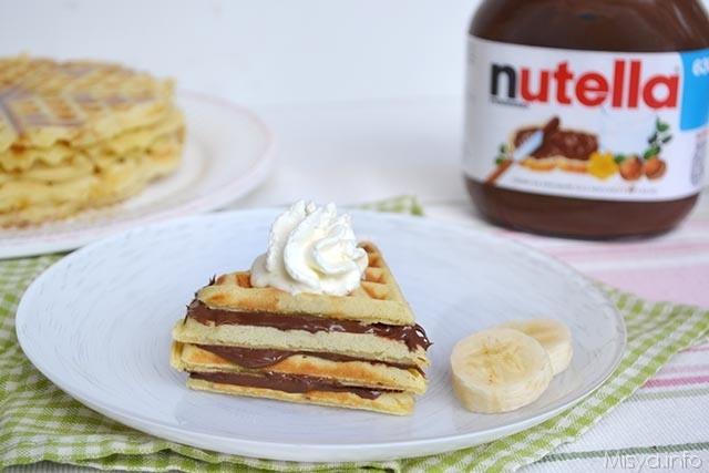 Waffle-alla-nutella