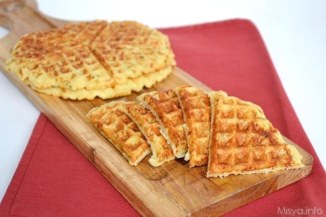Waffle-di-patate