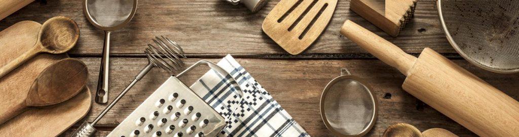 Gli utensili indispensabili in cucina
