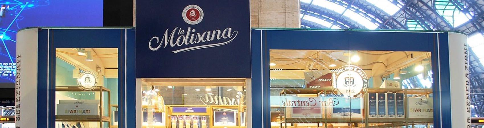 La Molisana: nel temporary store a Roma Termini si parla di pasta e si brinda alla bontà