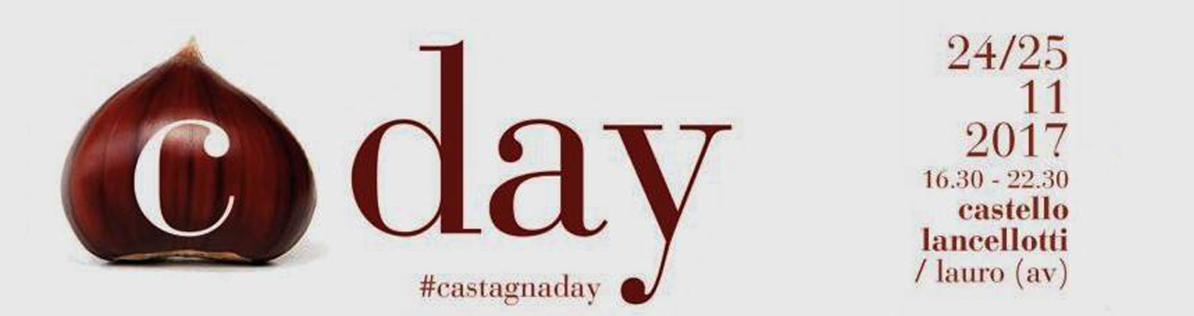 Castagnaday al Castello Lancellotti