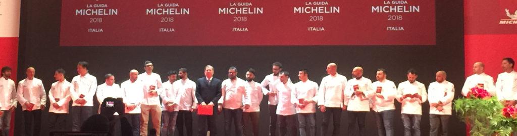 Guida Michelin 2018, ecco le nuove stelle della gastronomia in Italia