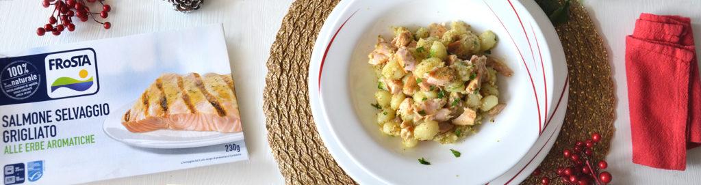 Frosta: il salmone grigliato diventa un primo delizioso