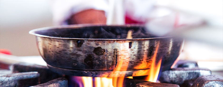 Come pulire una pentola bruciata
