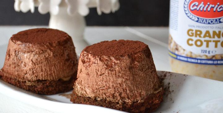 Tortino al cioccolato e grano