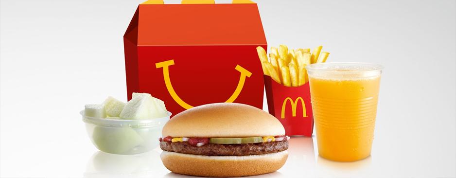 Il nuovo Menù Happy Meal di McDonald's