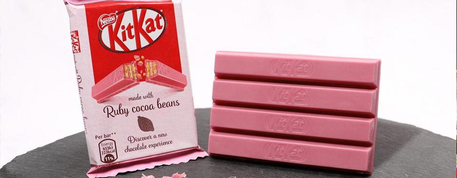 KitKat si, ma da oggi anche rosa
