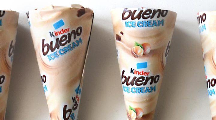 I gelati Kinder sono finalmente arrivati in Italia