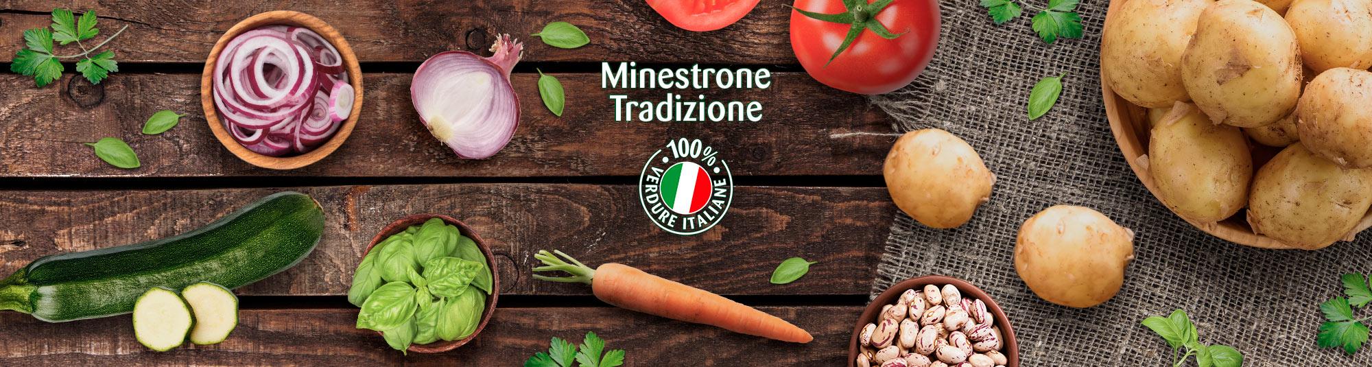 Minestrone Tradizione Findus, il minestrone surgelato da agricoltura sostenibile