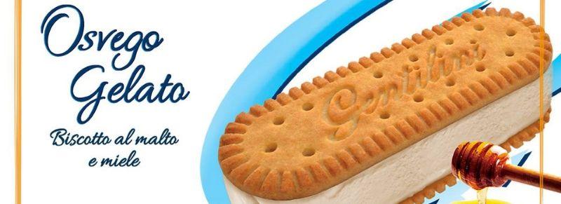 Osvego Gentilini: il famoso biscotto è diventato il gelato dell'estate 2019