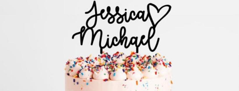 Cake topper mania: per la torta di nozze e non solo, ecco il trend che sta facendo impazzire tutti