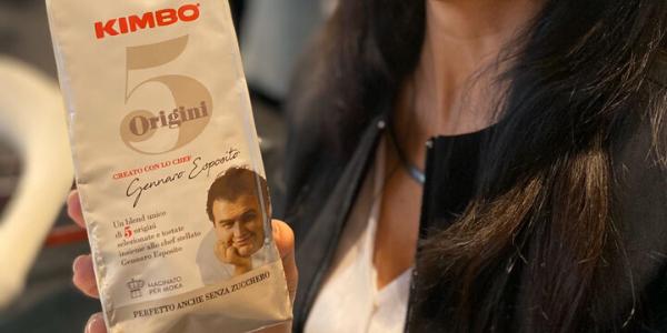 Nasce Kimbo 5 Origini, la miscela firmata da Gennaro Esposito e che ho assaggiato per voi