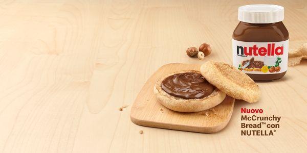 Il sogno si avvera, è nato il panino McDonalds con Nutella: prova d'assaggio in arrivo