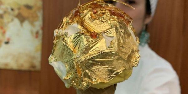 Il cono gelato più caro del mondo: al gusto d'oro