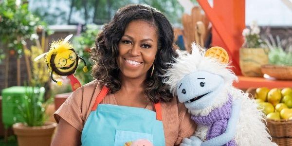 Michelle Obama su Netflix ci parla di alimentazione e cucina sana: non vediamo l'ora