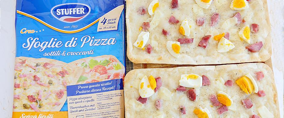 Sfoglie di pizza casatiello
