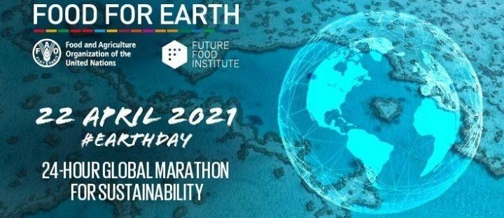 Food for Earth, la maratona mondiale per salvare il Pianeta partendo dal cibo