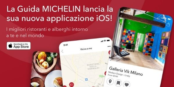 L'app guida Michelin ha vinto: venite a leggere di che si tratta