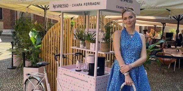 Il temporary cafè di Chiara Ferragni firmato Nespresso è aperto a Milano: ecco cosa aspettarci