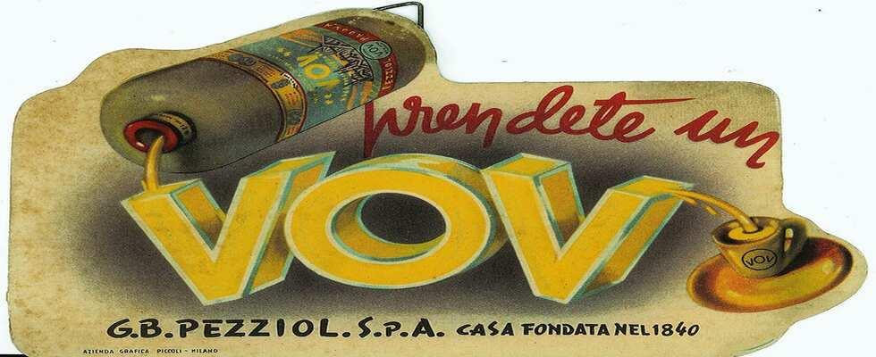 Il Vov, un liquore all'uovo che è amato da moltissimi anni
